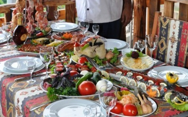 The Armenian cuisine. Traditions