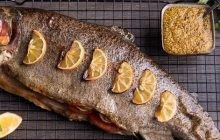 Boiled trout
