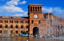 Yerevan, a city of drinking fountains