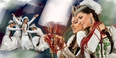 Armenian dance art