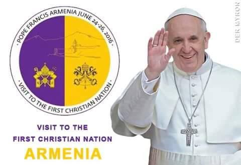 Pope Francis to visit to Armenia