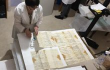 Around 760 sheets of valuable documents restored at Armenian Patriarchate of Jerusalem